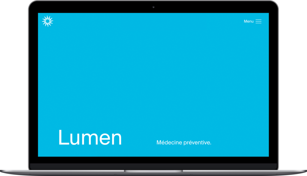 Lumen healthcare website